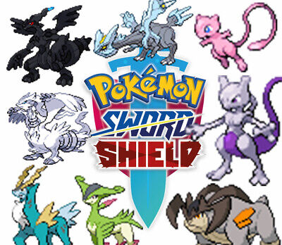 Pokemon Sword Shield 6IV Battle Ready Shiny LEGENDARY MYTHICAL POKEMON