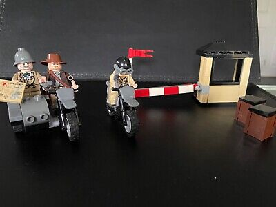 INSTRUCTIONS Lego Indiana Jones 7620 Motorcycle C Instructions Only NEW Original