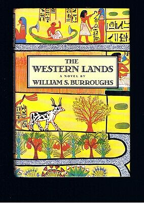 VINTAGE WILLIAM S.BURROUGHS ~ THE WESTERN LANDS ~ JUNKIE ~ 1st 1987 ~ NICE COND