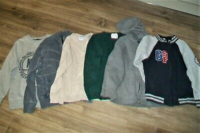 Lot of 6 boys jumpers/hoodie.6/7 y,7/8 y,8 y.Gap,Ben Sherman,Zara,Next,George.Us
