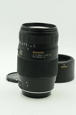 Promaster AF 70-300mm f4-5.6 Tele-Macro LD Lens Canon EF                    #594