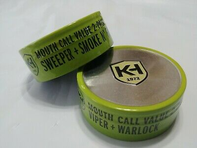 Knight and Hale Viper And Warlock turkey call 4-pack