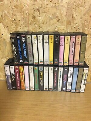 Vhs Tape Collection, Cassette Style Boxes, Pre Cert, Spectrum, Itc