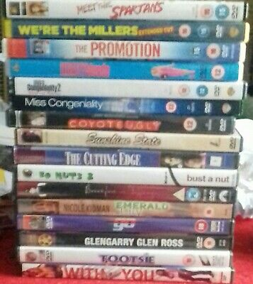 Laugh very loud Bundle Of 16 Dvds Comedy Job Lot. See below for more info.