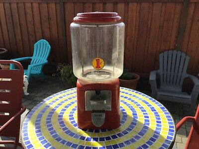Gumball Machine Vintage  Bubble Gum Globe Glass