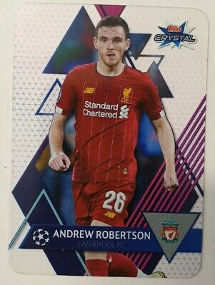 Topps Crystal 2019/20 Champions League | Karte 60 Andrew Robertson