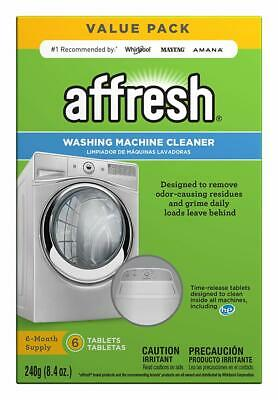 Affresh Washing Machine Cleaner, 6 Tablets | Cleans Front Load & Top Load Washer
