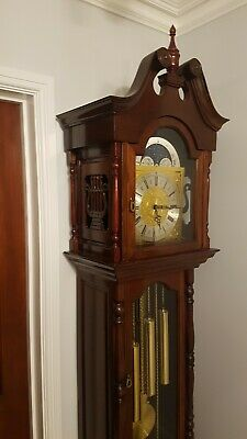 Grandfather Clock- /Triple Chimes/German movement.