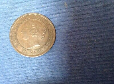 Queen Victoria 1859 N9  V.F. 30 Canadian Large Cent