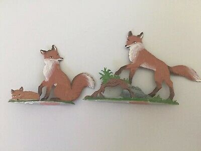 Three Fox, made of pewter  Wilhelm Schweizer
