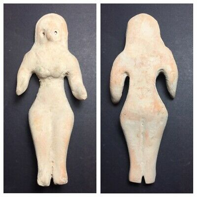 Very old Indus Valley Harappa terra-cotta  fertility doll figure