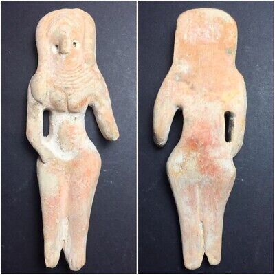 very old Indus Valley Harappa fertility doll terra-cotta