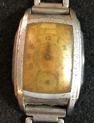 Vintage Westclox Men's Watch Parts/Repair Dollar Antique Bracelet Wrist USA