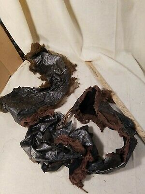 Planet of the apes 2001 screen used movie prop caveman leather top with  coa