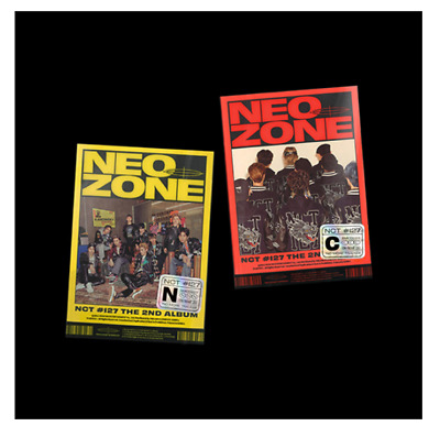 """NCT 127 New 2nd Album """" NCT #127 Neo Zone """" Official N Ver - 1 Photobook + 1 CD"""
