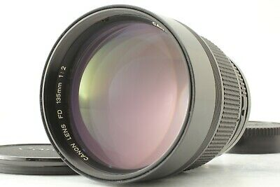 [Excellent +++++] Canon New FD 135mm f/2 NFD Telephoto MF Lens From Japan