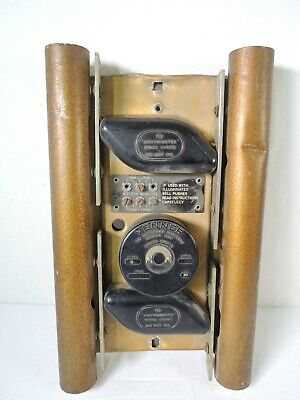 Vintage Friedland V&E Westminster 8 Note Door Bell Chime **For Parts/Repair**