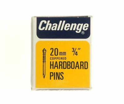 Frank Shaw Challenge Copper Plated Hardboard Pins 20mm 40G 3/4 Inch Pins
