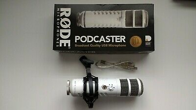 RØDE (Rode) podcaster USB microphone boxed vgc