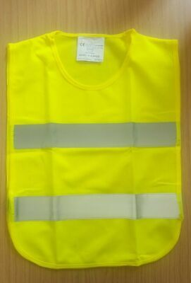 AA Kid Hi Vis Vest High Visibility Reflective Sleeveless Safety Waistcoat Unisex