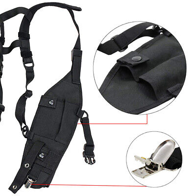 Universal Hands Free Chest Harness Bag Holster for Walkie talkie ME
