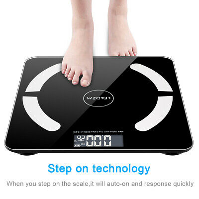 Bathroom Weight Digital Scales Smart Body Fat BMI Bluetooth Weighing
