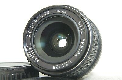 SMC Pentax 28mm F/3.5 MF Wide Angle Prime Lens SN5019392 for K Mount from Japan
