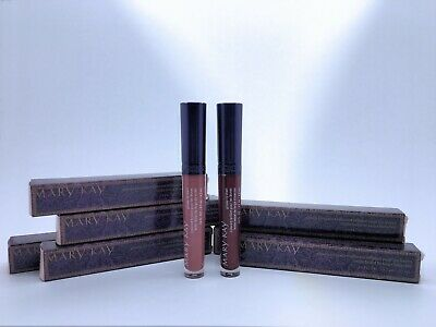 Quantity of 7 Mary Kay Glossy Lip Stain Mulberry Forest & Enchanted Mauve lot
