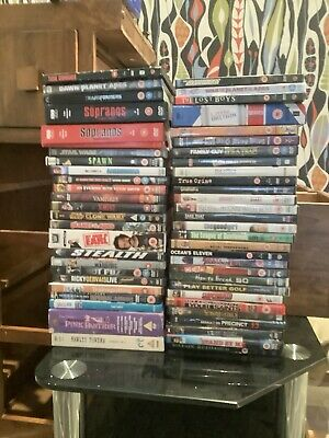 Sopranos And Star Wars Included Dvd Job lot Fore Sale Over 50 Box Sets Included