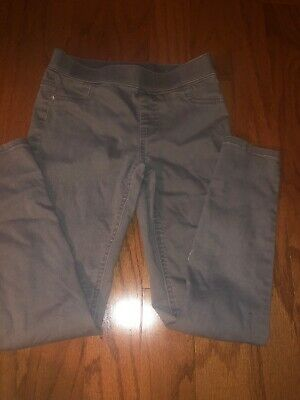 Justice Girls Gray Jean Leggings Size 12 Great Condition