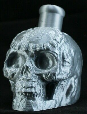 Mayan / Aztec Death Whistle Silver Skull *** MADE IN USA ***