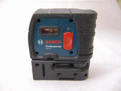 Bosch GPL 5 Point Alignment Laser - Free Shipping!  No Reserve! #SB54