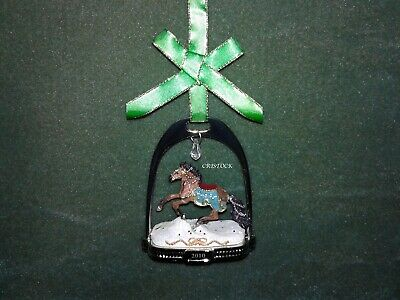 Breyer 2010 Christmas Stirrup Ornament ----- No Box ---  No Box ----