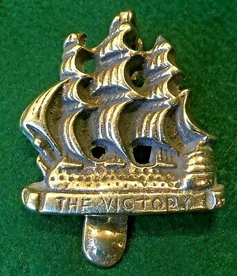 Antique Brass Door Knocker The Victory Ship Vice-Admiral Lord Nelson's Flagship