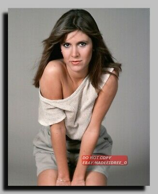 Hv-2458 Actress Carrie Fisher Princess Leia Star Wars 8X10 Photo