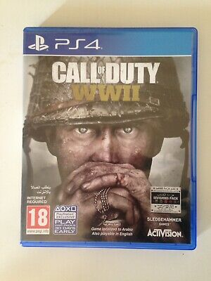 Call Of Duty WW2 ps4 in Inglese.