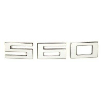 """CARVER CHROME RAISED DECAL LETTER A 2 3//4 /"""" X 2 5//8/"""" BOAT"""