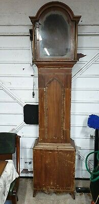 longcase clock case for restoration