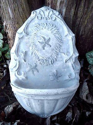 "Poly plastic starfish water dish bird feeder mold plaster cement  10.5"" x 6.5"""