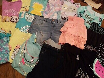 Large lot Girls 12/14/16 Spring Summer Majority are Justice + Gap Old Navy bcg