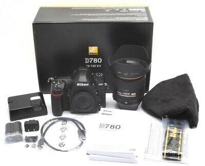 Mint Nikon D780 DSLR Camera with 24-120mm Lens With Only 54 Actuations #31305