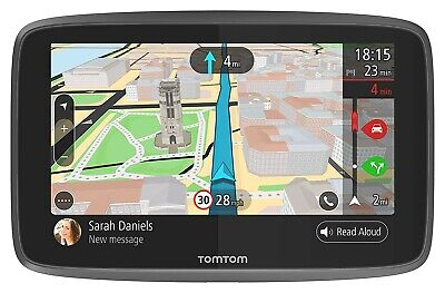 TomTom GO 6200 Sat Nav World Lifetime Maps, Camera+Traffic Wifi updates