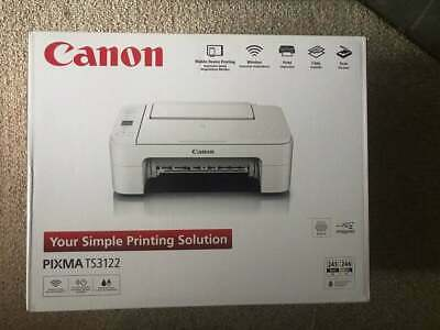 BRAND NEW  Canon Pixma TS3122 Wireless All-in-One Inkjet Printer
