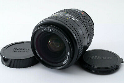 【MINT】Nikon Nikkor AF 28-70mm f/3.5-4.5 D AF Zoom Lens w/ Cap From Japan #462