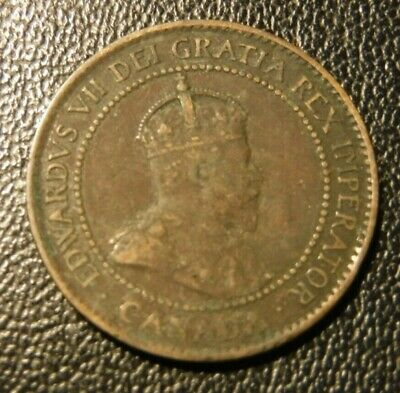 1902 Canadian Large Cent