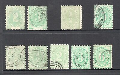 Australia Stamps - POSTAGE DUE Mix inc. Several with INVERTED Watermarks