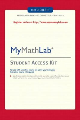 MyMathLab Student Access Code + eΒook - Fast Email - eBay message Delivery