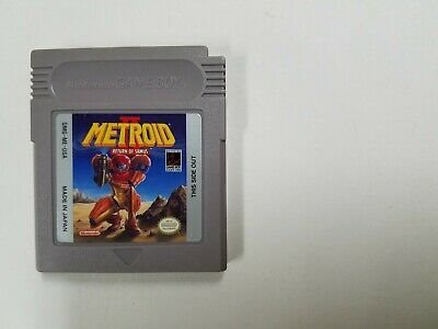 Metroid II: Return of Samus (Authentic) (Nintendo Game Boy GB) Contacts Cleaned