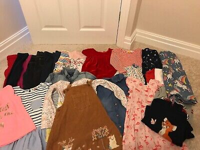 Girls Age 4-5 Years Clothes Bundle -  M&S, Next, Boden, Gap, Hatley - 25 Items