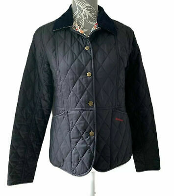 Girls Barbour Jacket Windless Quilt Navy Jacket Size XXL kids Or size 8 adult